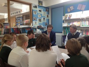 Questioning the local MP (Dr Daniel Poulter)