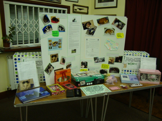 Info stand at our open day