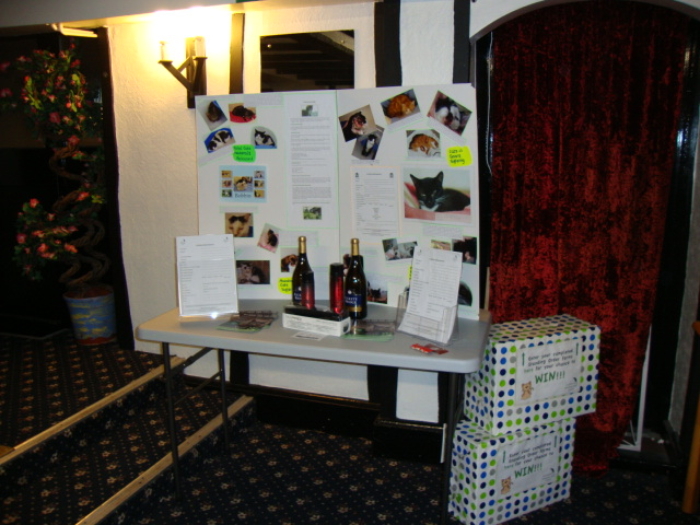 Stand at fund raising night