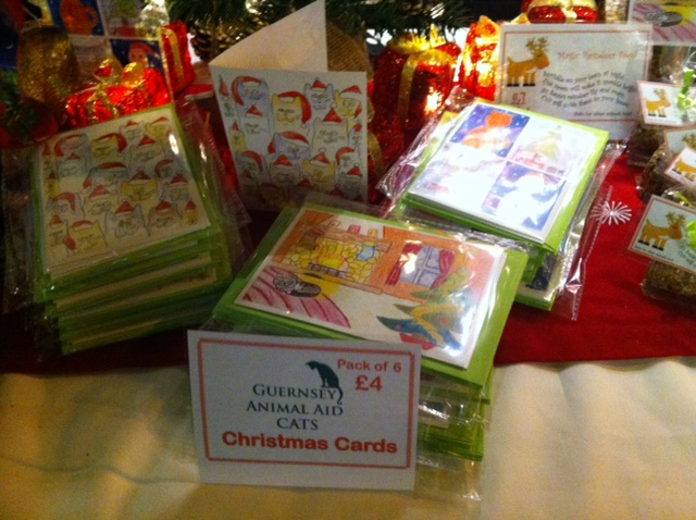 Guernsey Animal Aid Christams Cards for Sale