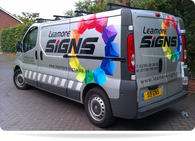 Services Leamore Signs Van And Truck Graphics Stafford