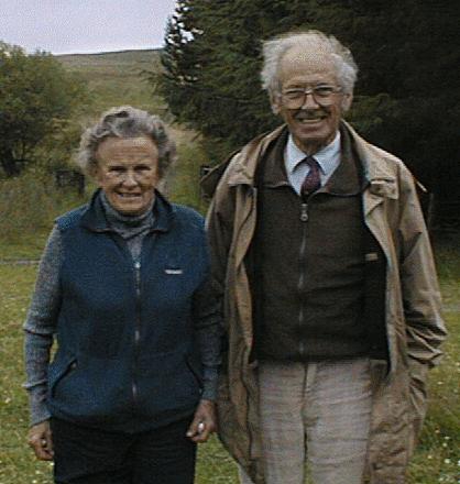 Brandon and Flavia in 1999