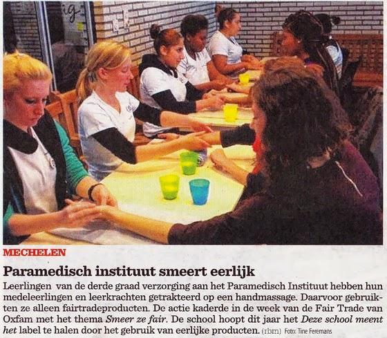 Uit Het Nieuwsblad van zaterdag 12 oktober